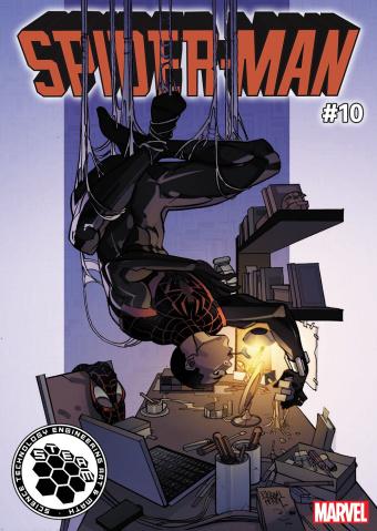 Spider-Man #10 (Ferry STEAM Cover)