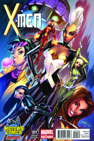 X-Men #1 (Midtown Comics Cover)