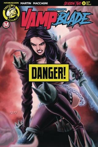 Vampblade, Season Two #6 ('90s Risque Cover)