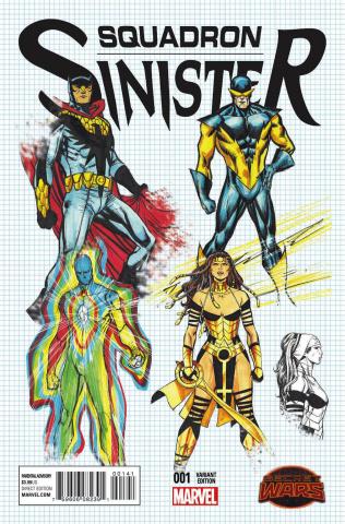 Squadron Sinister #1 (Pacheco Design Cover)