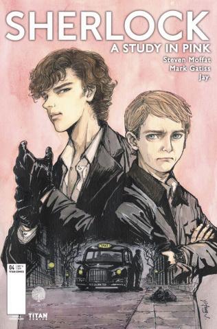 Sherlock: A Study in Pink #4 (Jiang Cover)