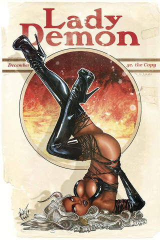 Lady Demon #1 (Poulat Bombshell Cover)