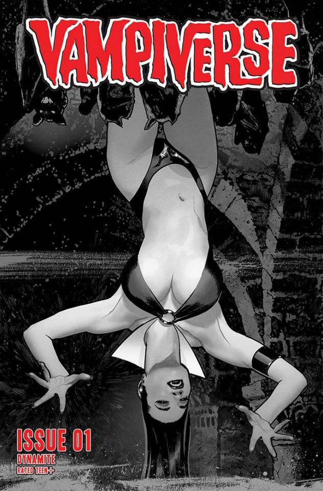 Vampiverse #1 (40 Copy Hughes B&W Cover)