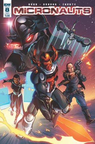 Micronauts #8 (Subscription Cover)