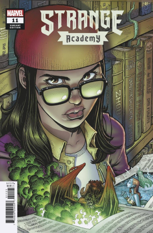 Strange Academy #11 (Adams Character Spotlight Cover)
