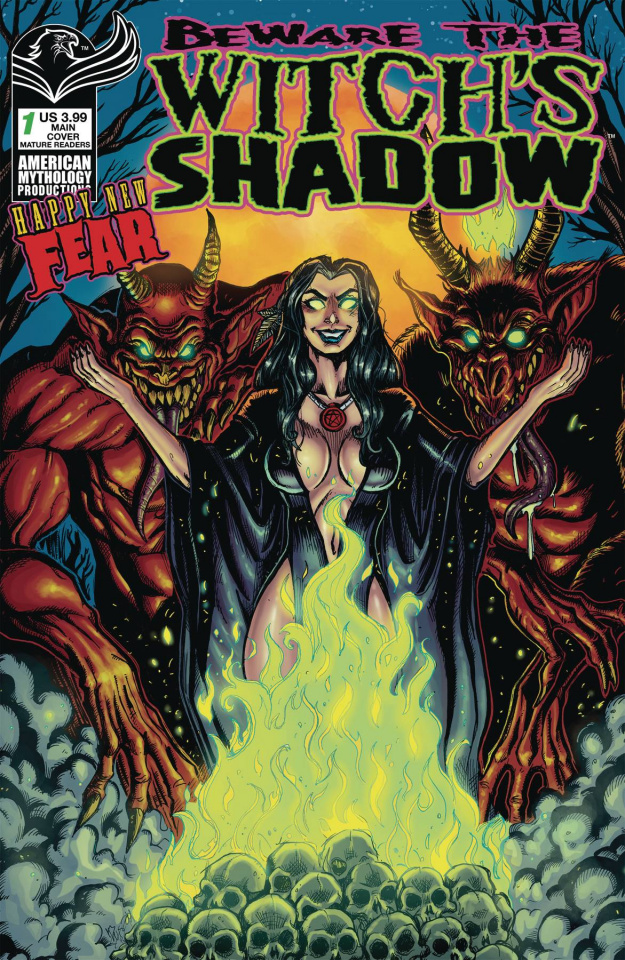 Beware the Witch's Shadow Happy New Fear #1 (Calzada Cover)