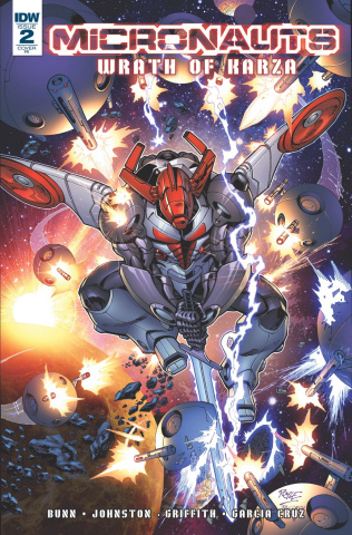 Micronauts: Wrath of Karza #2 (10 Copy Cover)