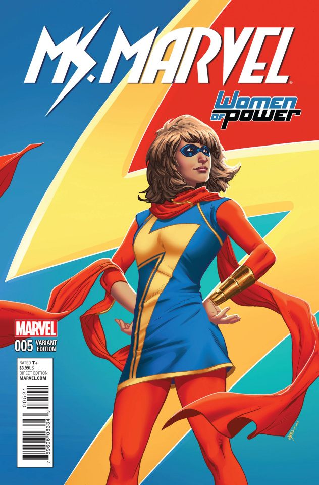 Ms. Marvel #5 (Lupacchino Cover)