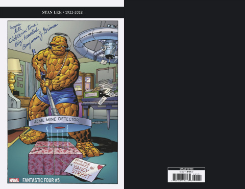 Fantastic Four #5 (Kirby Thing Remastered Cover)