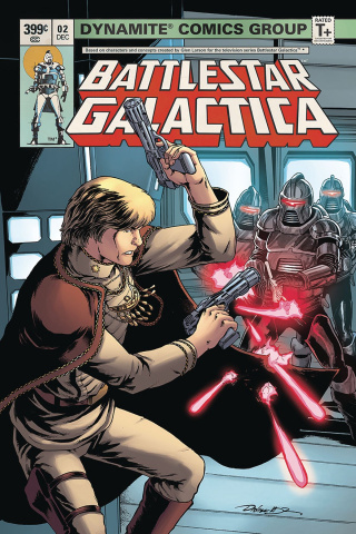 Battlestar Galactica Classic #2 (HDR Cover)