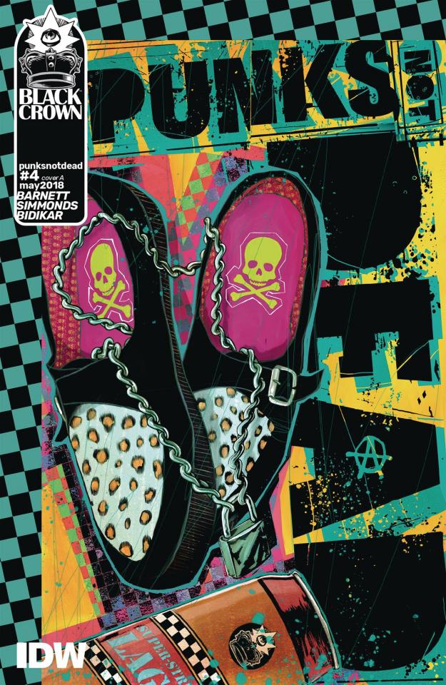 Punk's Not Dead #4 (Simmonds Cover)