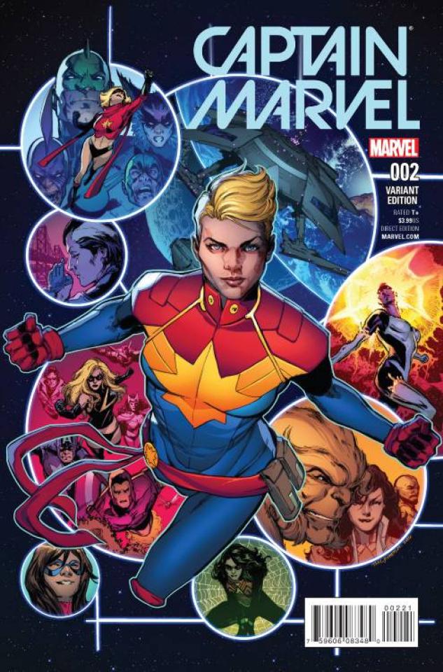 Captain Marvel #2 (Jimenez Cover)