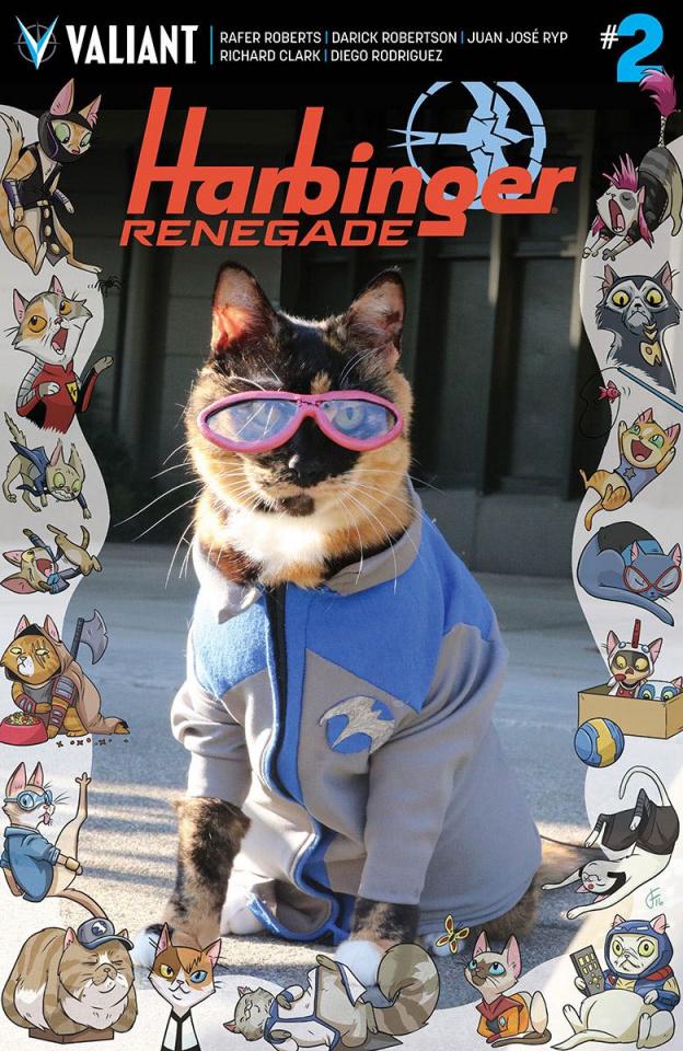 Harbinger: Renegade #2 (Cat Cosplay Cover)