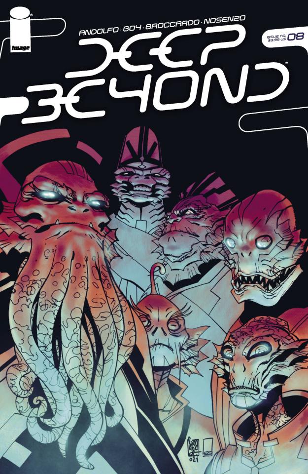 Deep Beyond #8 (Camuncoli Cover)
