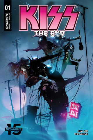 KISS: The End #1 (Sayger Cover)