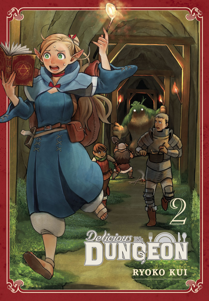 Delicious in Dungeon Vol. 2