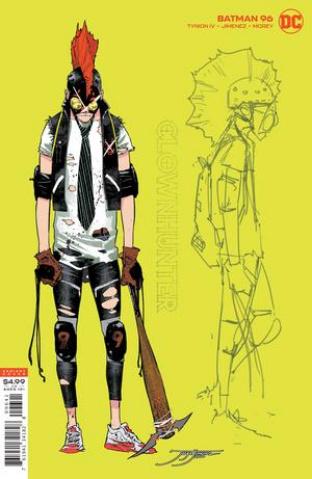 Batman #96 (1:25 Jorge Jimenez Joker Hunter Card Stock Cover)
