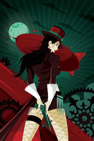 Grimm Fairy Tales: Van Helsing vs. Frankenstein #2 (Mahle Cover)