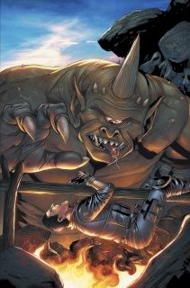 Grimm Fairy Tales: Escape From Monster Island #3 (Spay Cover)