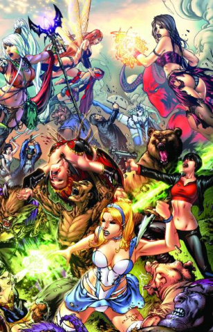 Grimm Fairy Tales: The Dream Eater Saga Vol. 1