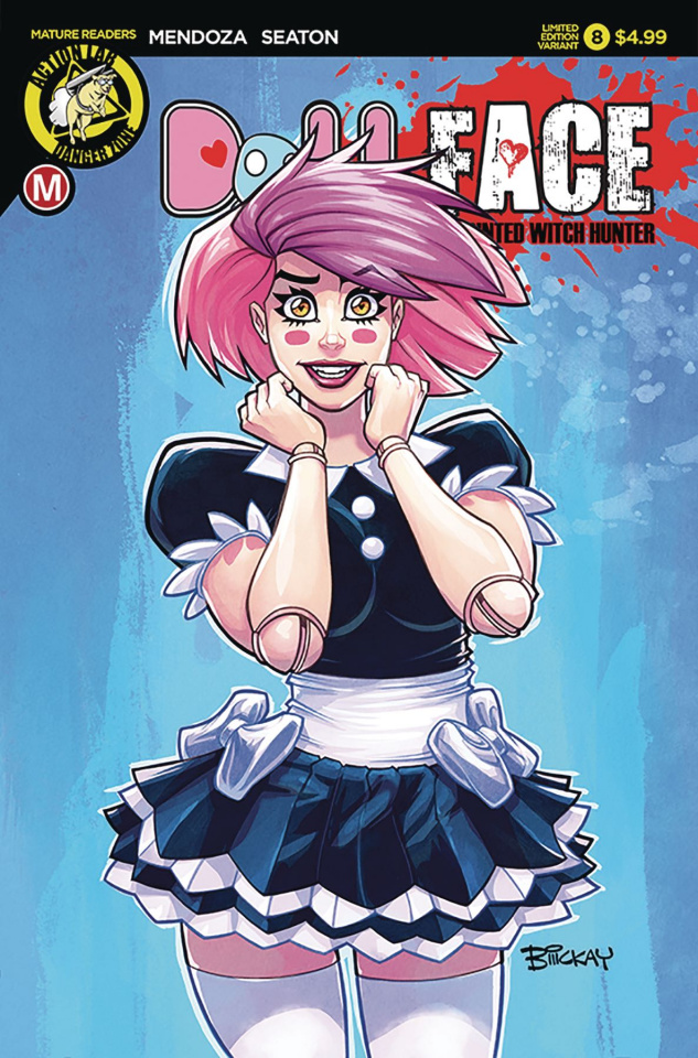 Dollface #8 (McKay Pin Up Cover)