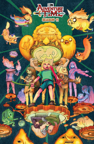 Adventure Time, Season 11 #5 (Benbassat Cover)