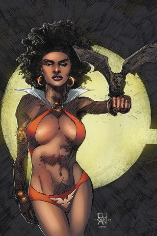Vampirella #8 (Cowan Virgin Cover)