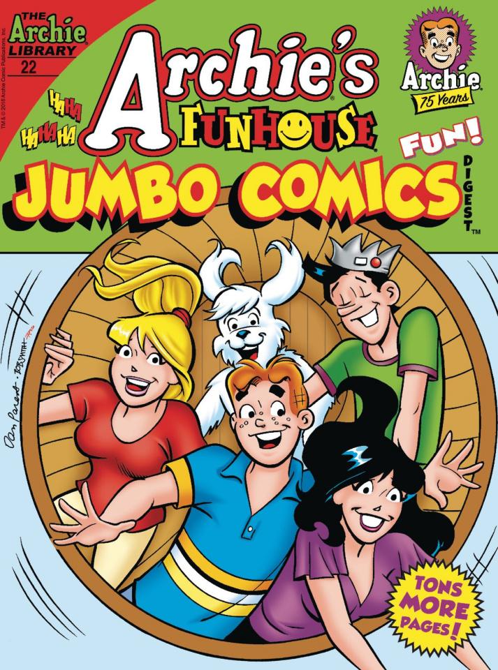 Archie's Funhouse Comics Jumbo Comics Digest #22