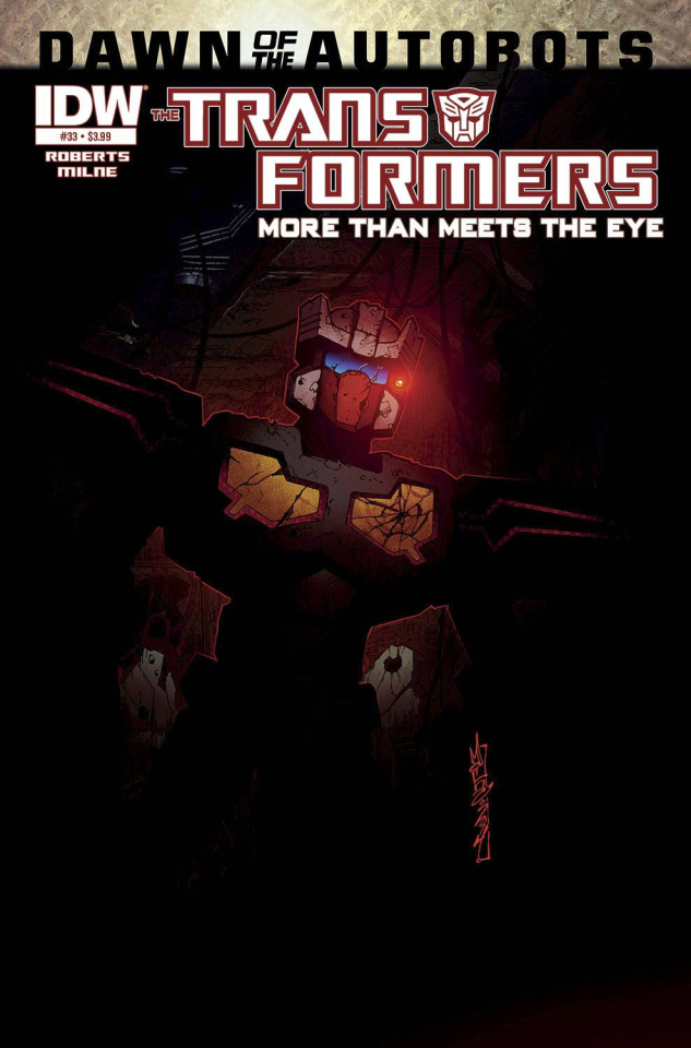 The Transformers: More Than Meets the Eye #33 (Dawn of the Autobots)