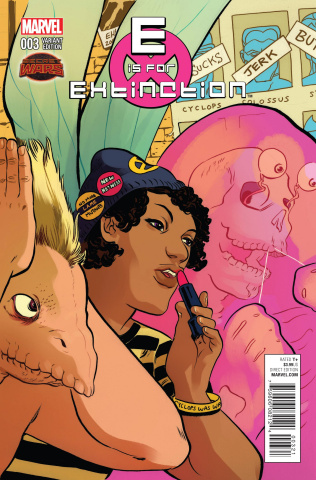 E is for Extinction #3 (Henderson Cover)
