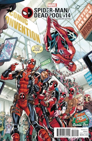 Spider-Man / Deadpool #14 (Nauck C2C Cover)