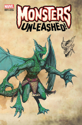 Monsters Unleashed! #1 (New Monster Cover)