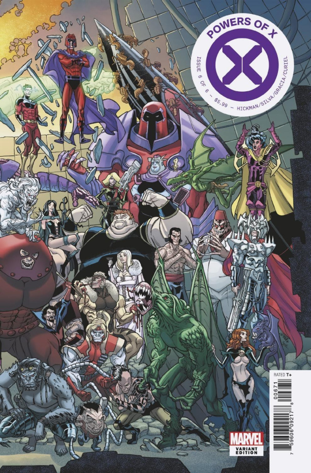 Powers of X #6 (Garron Connecting Cover)