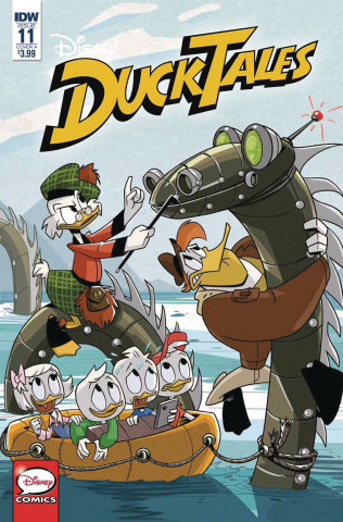 DuckTales #11 (Ghiglione Cover)