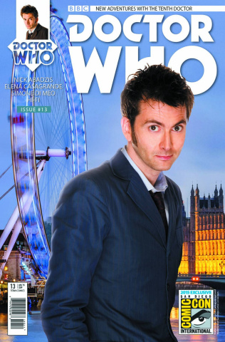 Doctor Who: New Adventures with the Tenth Doctor, Year Two #13 (SDCC Cover)