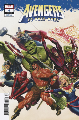 Avengers: No Road Home #6 (Alex Ross Cover)