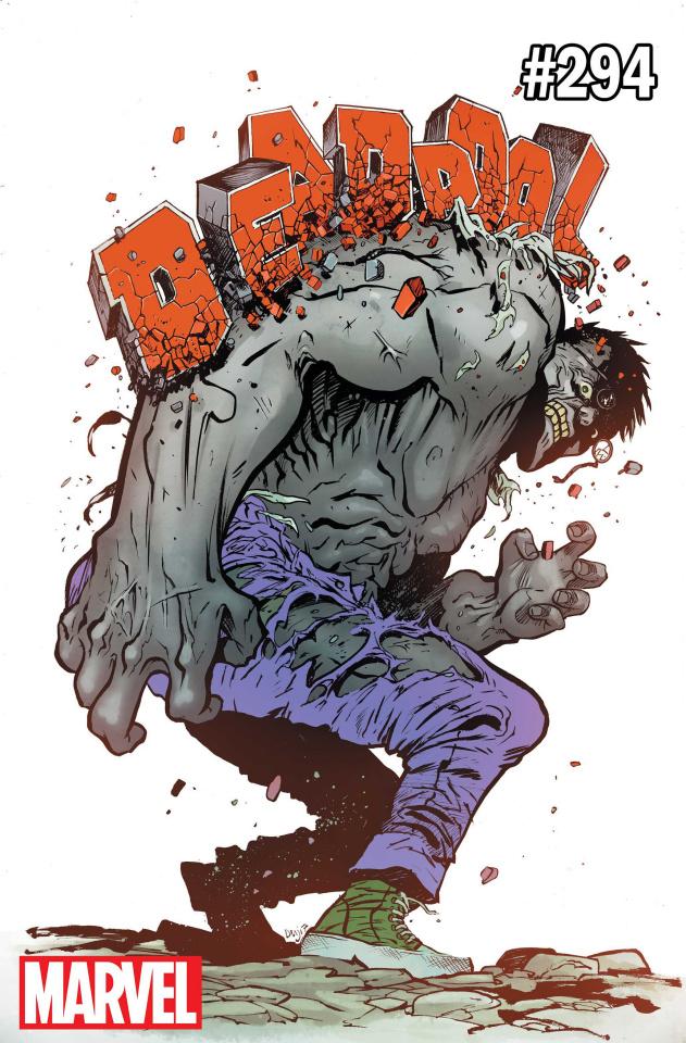 The Despicable Deadpool #294 (Hulk Cover)