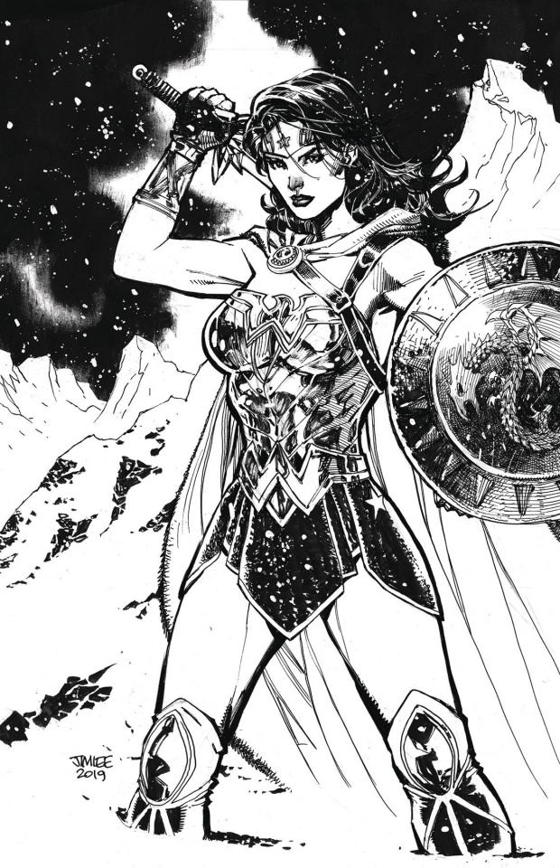 Wonder Woman #759 (Card Stock Jim Lee Cover)