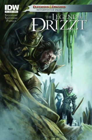 Dungeons & Dragons: The Legend of Drizzt #4