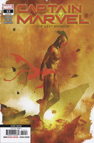 Captain Marvel #12 (Sorrentino 2nd Printing)