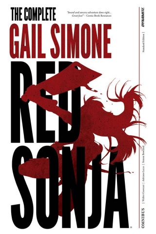 Red Sonja: The Complete Gail Simone (Oversized Simone Signed Edition)