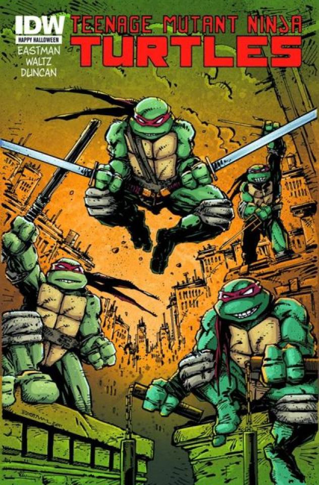 Teenage Mutant Ninja Turtles #1 (Trick-Or-Treat Edition)
