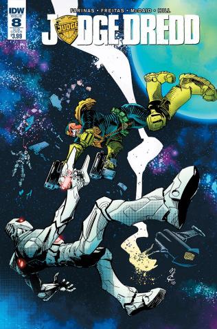 Judge Dredd #8 (ROM Cover)