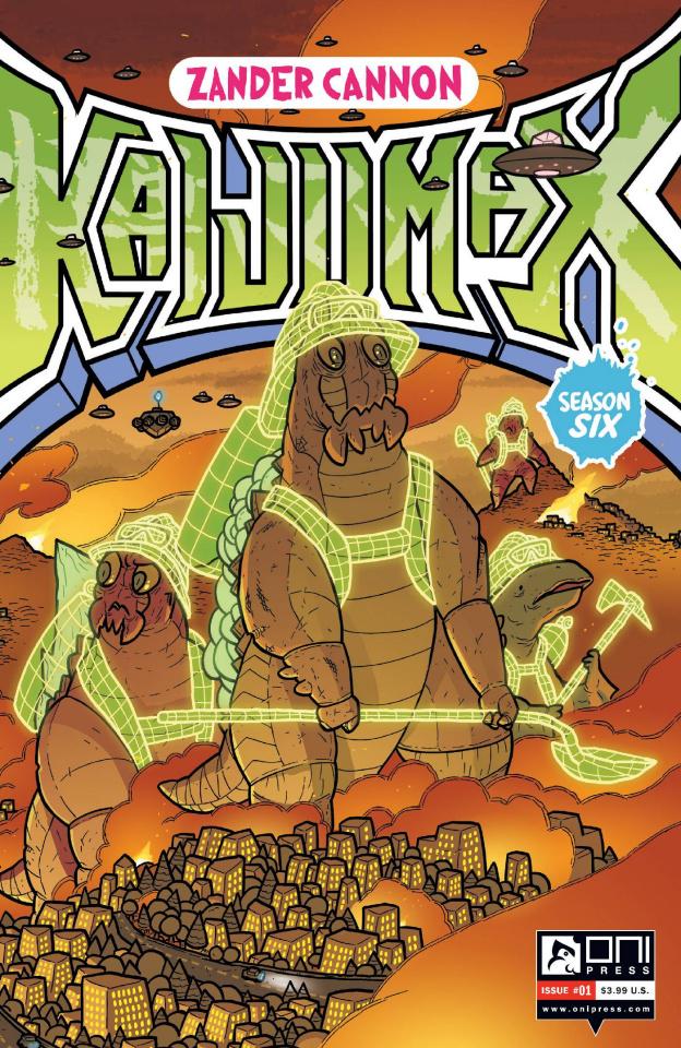 Kaijumax, Season 6 #1