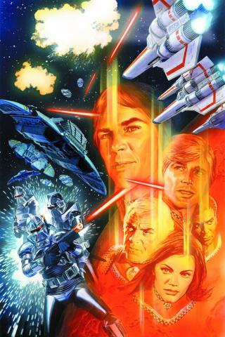 Battlestar Galactica #1 (Ross Cover)