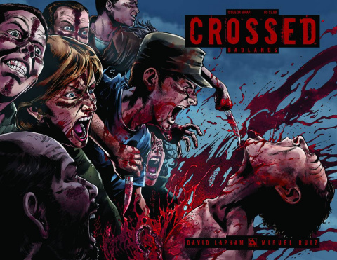 Crossed: Badlands #34 (Wrap Cover)