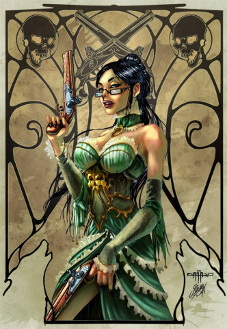 Grimm Fairy Tales: Unleashed #0 (Cafaro Cover)