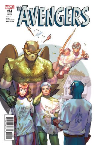 Avengers #2.1 (Putri Cover)
