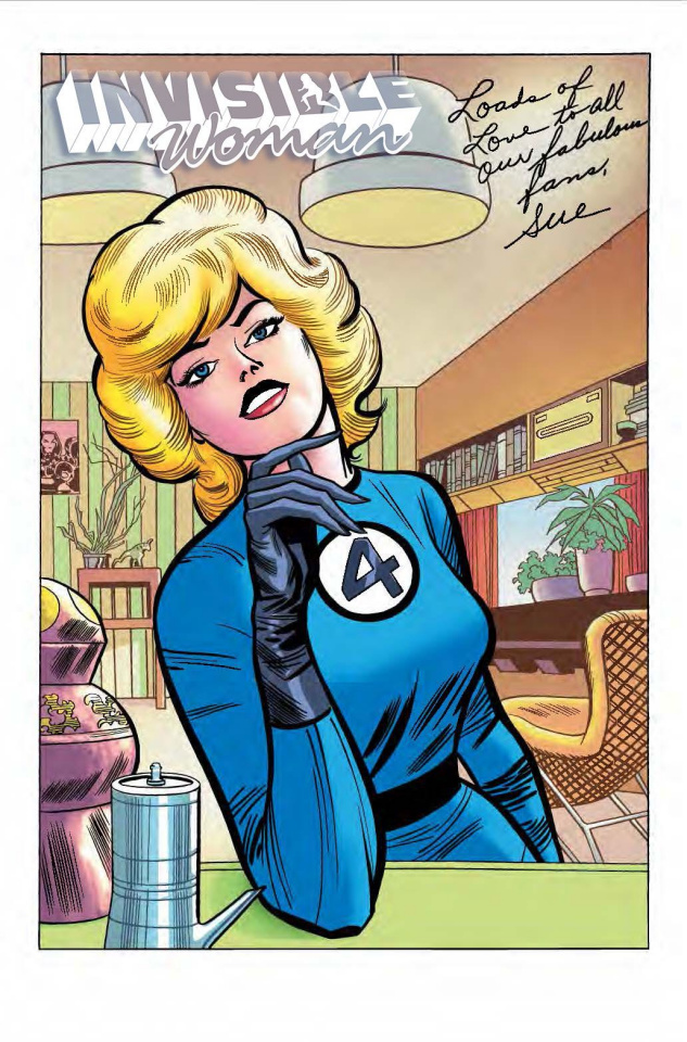 Invisible Woman #1 (Kirby Hidden Gem Cover)