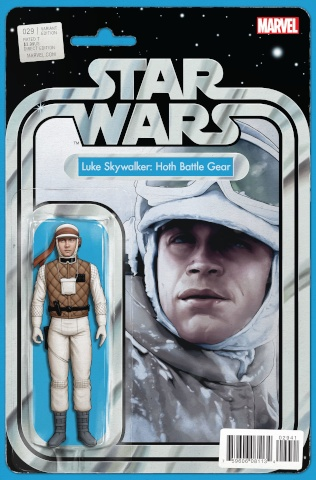 Star Wars #29 (Christopher Action Figure Cover)